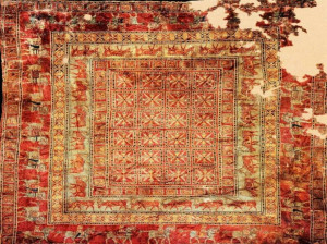 تصویری دیدنی از قدیمی ترین قالیچه ی جهان