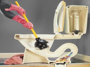 روش های فوری برای رفع گرفتگی لوله توالت + روش های تشخیص علل گرفتگی لوله