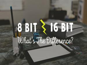 تفاوت 8 بیت و 16 بیت در فتوشاپ همراه با فیلم آموزشی