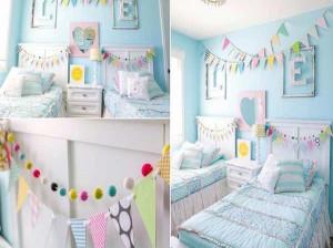 10 ایده خلاقانه تزیین اتاق با کاغذ رنگی