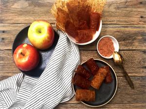 طرز تهیه 7 مدل لواشک سیب در خانه