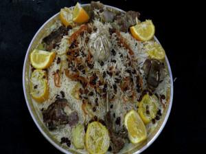 آشنایی با دستور پخت گوشت قاق پلو افغانی و خواص آن