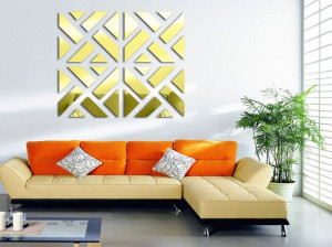 ایده های فوق العاده برای تزیین دیوارهای سالن پذیرایی