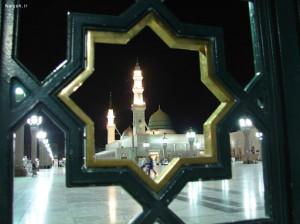 مجموعه برگزیده عکس مسجد النبی (ص) برای پروفایل