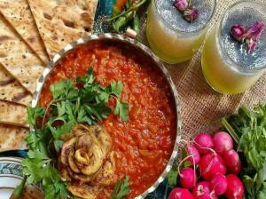 دستور پخت خوراک بادمجان کبابی غذای رستورانی بینظیر