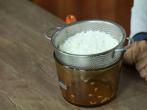 بهترین روش آبکش کردن برنج چیست ؟