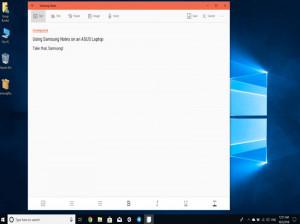 نحوی همگام سازی سامسونگ نوت Samsung Notes بین گوشی و ویندوز 10