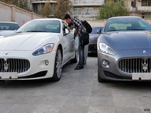 خودروهای گرانقیمت و البته سوپر لوکس در تهران