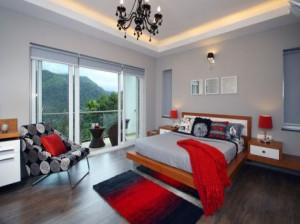 اتاق خواب های زیبا با رنگ های فوق العاده