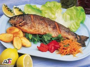 خاصیت خوردن ماهی