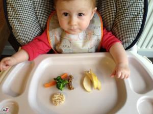 غذا کمکی به نوزاد 6 ماهه