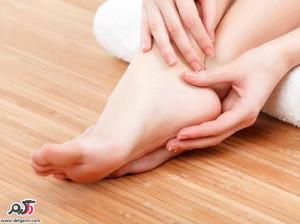 درمان خانگی سوزش کف پا