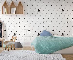 جدیدترین مدل کاغذ دیواری اتاق کودک زیبا و شیک 2019