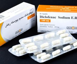معرفی قرص دیکلوفناک (Diclofenac) و موارد مصرف آن