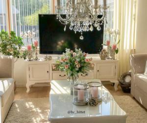 تزیین خانه عروس برای جهاز دیدن جدید و مدرن ( عکس دکوراسیون منزل )