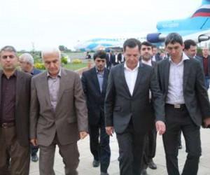 هیات اقتصادی آستراخان روسیه مازندران را ترک کرد