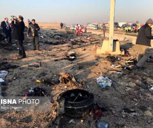 سقوط هواپیمای اوکراینی بر فراز فرودگاه امام