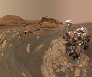 جدیدترین عکس از مریخ: سلفی مریخ نورد ناسا از خودش !