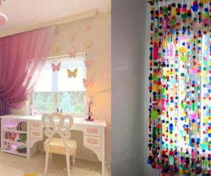 ژورنالی جدید از مدلهای متنوع پرده اتاق کودک با رنگ بندی های جذاب