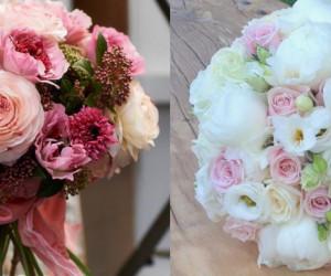 عکس های کمتر دیده شده از تزیین دسته گل عروس ویژه سال جدید