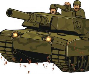 نقاشی ارتش : 12 نقاشی با موضوع روز ارتش برای رنگ آمیزی کودکان