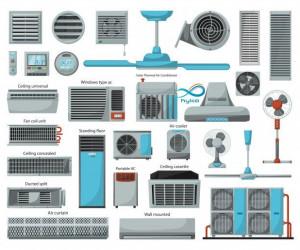 معرفی کامل انواع سیستم های تهویه مطبوع