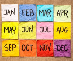 ماه های میلادی به ترتیب و معادل هرکدام به شمسی + تلفظ صحیح