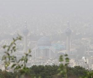 میزان آلودگی هوای اصفهان