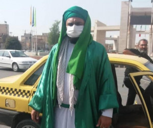 امام زمان قلابی در ماهشهر / عکس های باور نکردنی از امام زمان قلابی
