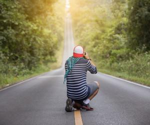 بیش از 40 ایده ی فوق العاده برای گرفتن ژست عکس در جاده !