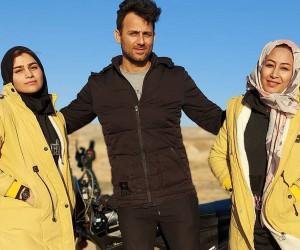علی شکارچی و دو همسرش