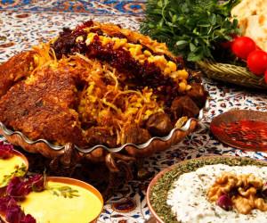 طرز تهیه مانی پلو خوشمزه و مجلسی با گوشت و مرغ