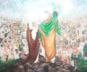نقاشی عید غدیر : 28 نقاشی کودکانه با موضوع عید غدیر خم
