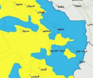 شرایط آبی به وضعیت کرونایی اضافه شد + اسامی استان های آبی