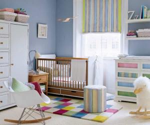 تا دو سالگی تغییر رنگ اتاق کودک ممنوع!