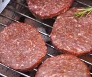 همبرگر با گوشت مصنوعی