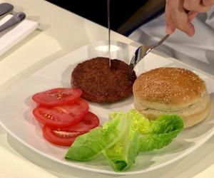 از اولین همبرگر تولید شده در آزمایشگاه رونمایی شد