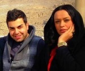 جمعی از بازیگران سریال آوای باران در تخت جمشید شیراز+عکس