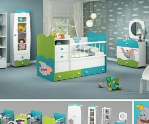 سرویس خواب کودک با طرح هایی زیبا و متنوع