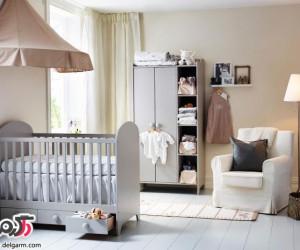 تخت و کمد نوزادی+عکس
