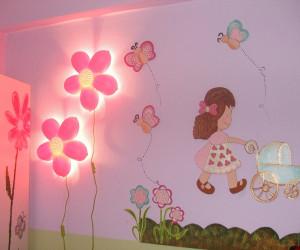 تزئین دیوار اتاق کودک جذاب و خلاقانه