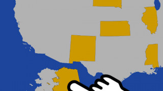 بازی چالش نقشه آمریکا