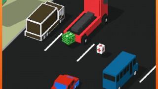 بازی مسابقه در ترافیک