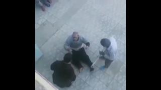 فیلم کتک زدن پیرمرد در آسایشگاه سالمندان بروجرد