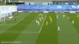 خلاصه دیدار رئال مادرید ۲-۱ ویارئال