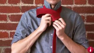 آموزش بستن کراوات باریک