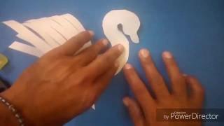آموزش ساخت قو با کاغذ