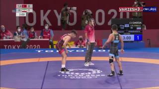 برد رضا اطری مقابل ترکیه المپیک توکیو ۲۰۲۰