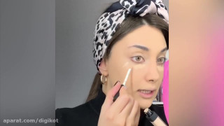 آموزش آرایش صورت ایرانی دخترانه