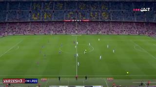 خلاصه بازی بارسلونا ۱ - ۱ گرانادا